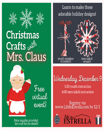 Christmas Crafts Mrs. Claus